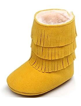 Schön Babyschuhe Schneestiefel,Amcool Baby Quasten Weiche Sohle Winter Warme Schuhe Lauflernschuhe Kleinkind Schuhe...