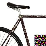 MOOXI-BIKE Fahrrad-Folie Konfetti (ausreichend für Teilbereiche)