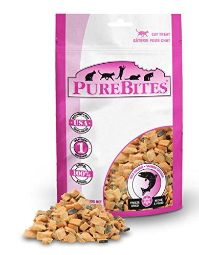 PureBites Salmon for Cats, 0.49oz / 14g - Entry Size by PureBites