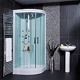 Better Bathrooms Aqualine™ Hydromassage Shower Cabin with 6 Body Jets Shower Cabin Enclosure