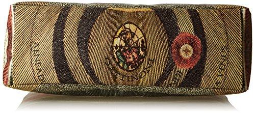 GATTINONI Gacpu0000099, sac bandoulière Multicolore (Classico)