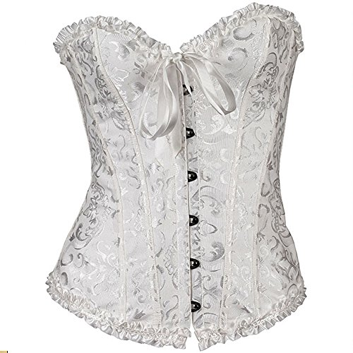hlgo-womens-sexy-lingerie-lace-up-satin-boned-corset-with-g-string-7-colors-9-size-for-choice-white-