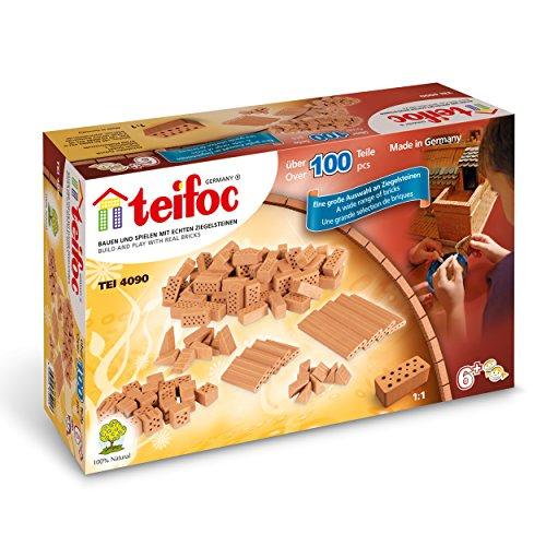 Teifoc Steinbaukästen - TEI 4090 - Bausteine Gemischt
