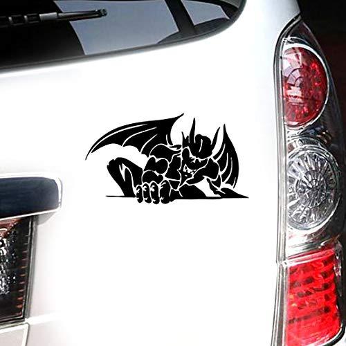 Lustige Auto Aufkleber Wasserspeier-Geschöpf-Monster-Auto, das Auto-Aufkleber anredet