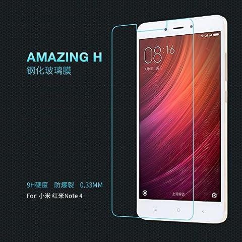 Nillkin Amazing H - Film de protection d'écran 9H verre trempé de 0,3 mm avant pour Xiaomi Redmi Note 4 / Note 4X