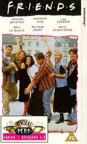 Click for larger image of Friends: Series 1 - Episodes 5-8 [VHS] [1995]