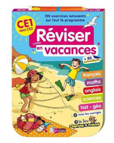 Réviser en vacances - Bloc jeux CE1
