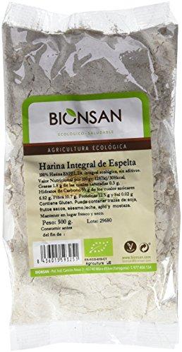 Bionsan Harina de Espelta Integral - 6 Paquetes de 500 gr - Total: 3000 gr