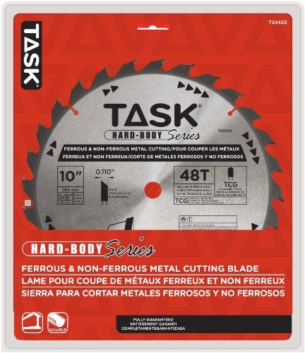 Aufgabe Tools t2242325,4cm Hard Body Metall schneiden Hartmetall Sägeblatt, Eisen und NE-mit 5/8Zoll Arbor
