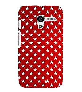 EPICCASE multi stars Mobile Back Case Cover For Moto X (Designer Case)