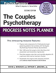 The Couples Psychotherapy Progress Notes Planner (PracticePlanners) by David J. Berghuis (2011-05-27)