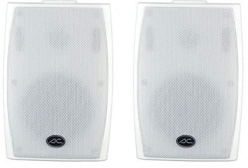 ACOUSTIC CONTROL AC-3076WH Altavoces sonorización Blancos Pareja ( soporte incluido)