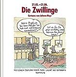 Die Zwillinge: Witziges Cartoon-Geschenkbuch