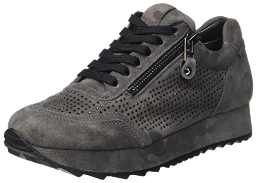 Kennel und Schmenger Damen Cat Sneaker, Grau Black Sohle Slate, 37.5 EU