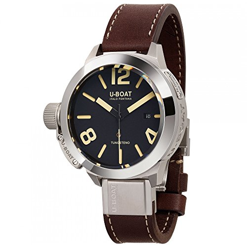 U-Boat Classico Automatic Watch, Stainless Steel 316L, Black, 50mm, 8092