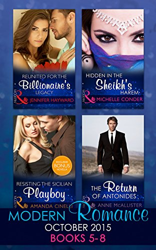 book cover of Modern Romance October 2015 Books 5-8