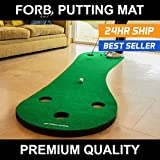 Best Golf Practice Nets - FORB Home Golf Putting Mat (10ft Long) Review