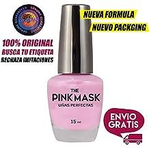 The Pink Mask - Mascara de uñas AntiManchas - Perfecta para Nail Art