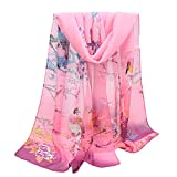 KPILP Frauen Mode Seidenschal Jacquard Weiche Baumwolle Pashminas Pariser Streifen Schal Weichen Strandtuch Umhang Schal,A4