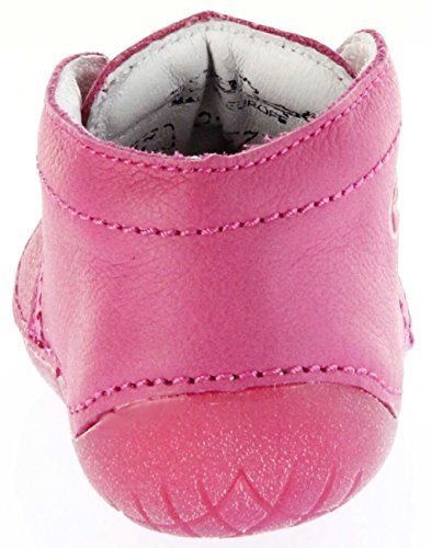 Richter Kinderschuhe  0621-831-3500 - Fuchsia, Chaussures souples pour bébé (fille) rose bonbon
