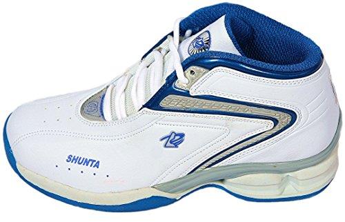 Shunta Sportschuhe SH-1279A Turnschuhe Sneaker Sport Schuhe Weiß Blau Gr.41