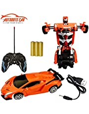 NHR Remote Control Car Rechargeable Robot car with Light and Sound for Kids 2 to 5 Years (Multicolor)
