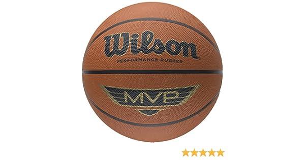 Wilson MVP pallone da basket da esterno in legno giocare Scherzo Performance Training Ball in gomma