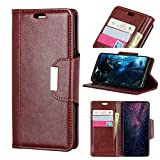 iPhone Xr Case, Happon Ultra Thin Protective Pu Leather Book Wallet Case with Card Slot, Stand Function,...