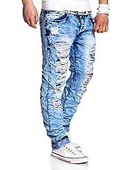 MT Styles Vintage Jeans Slim Fit pantalon RJ-2257