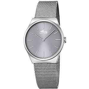 Reloj Lotus Mujer Trendy 18288/3 Malla Plateado