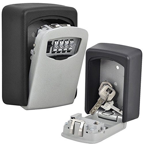 Ocamo Haushalt Passwort Key Lock Box Set Karte Cipher Box Schlüssel Behälter Speicher Fall