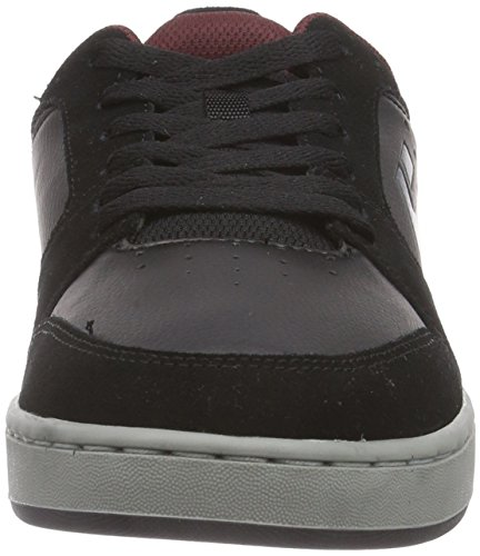 Etnies VERANO, Low-Top Sneaker uomo Nero (Schwarz (Black/Grey/Red))