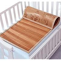 Doppelseitige Gebrauchsbett-Matte --- Sommer Rattan Weave Matten Bequeme Matratze Kinder Einzelbett Matte --- natürlicher Bambus und Rattan Klappbett-Matte ( größe : 55*130cm ) preisvergleich bei kinderzimmerdekopreise.eu