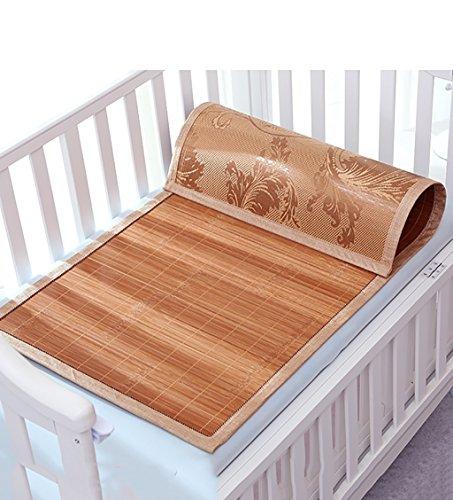 Sommer caijun Rattan Geflecht-Matten mit Kinder-Bett mit Matte-Pad, 55 * 120cm