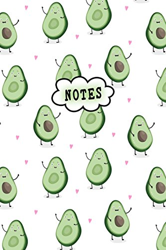 Print-laptop-tasche (Notes: Cute Notebook Avocado Lover Lined College Ruled (6 x 9) Pages Small Composition Book Diary Softback Cover)