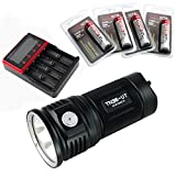 ThruNite TN36 UT Max 7300 Lumen CREE XHP 70 LED Taschenlampe (TN36 UT NW+MCC-4S+4X3400)