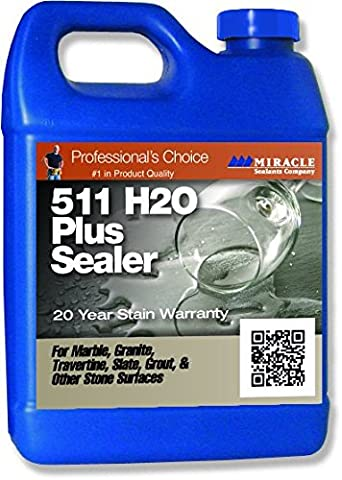 Miracle Sealants 511 H2O Plus 473ml (US PT) Water Base Penetrating Sealer