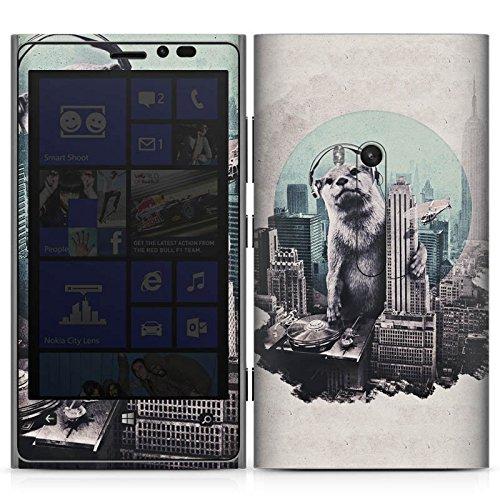 DeinDesign Nokia Lumia 920 Case Skin Sticker aus Vinyl-Folie Aufkleber Otter Stadt City (Case 920 Lumia Otter Nokia)