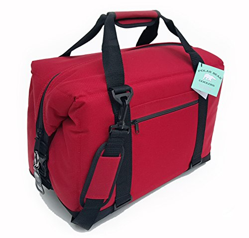 polar-bear-coolers-nylon-series-soft-cooler-pb-243-paquete-de-24-paquete-de-24-rojo