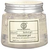 Khadi Natural Aloevera Gel, 200g (Transparent)
