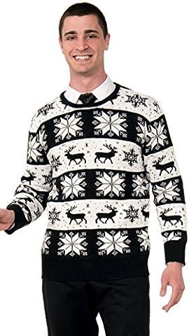 Forum Novelties, Inc Unisex-adult Adult Snow Drift Ugly Sweater