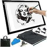 A3 caja de luz LED artista tablero de dibujo tablero de tatuaje Tracing Table Display Light Box Pad (A3 DC)