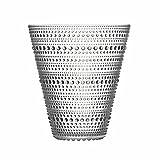 Iittala Kastehelmi Deko Vase, Glas, Transparent, 15,4 cm