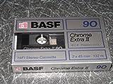 Blanko Kassette BASF 90chrom extra II NEU und versiegelt