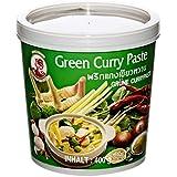 Cock Brand Pasta de Curry Verde - 4 Paquetes de 400 gr - Total: 1600 gr