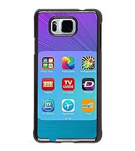 PrintVisa Mobile Screenshot High Gloss Designer Back Case Cover for Samsung Galaxy Alpha :: Samsung Galaxy Alpha S801 :: Samsung Galaxy Alpha G850F G850T G850M G850FQ G850Y G850A G850W G8508S :: Samsung Galaxy Alfa