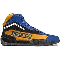 Sparco 00125926AZAF Botines para Karting, Azul/Naranja, 26