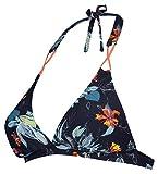 Noppies Damen Umstandsbikinioberteil Bikini Top Amelie AOP, Mehrfarbig (Navy C166), 38 (Herstellergröße: M/L)