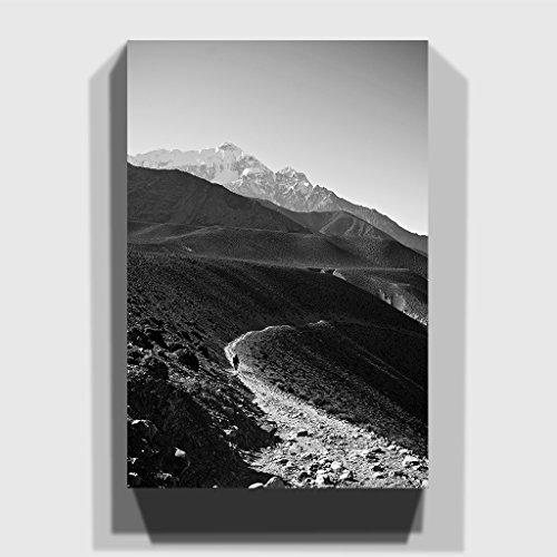 BIG Box Art The View of The Mountain Landscape Canvas Print, Multi-Colour, 30 x 20-Inch/76 x 50 cm