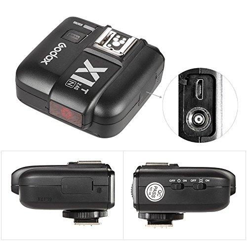 Godox X1-T-N TTL Wireless Flash Trigger Transmitter for Nikon Cameras...